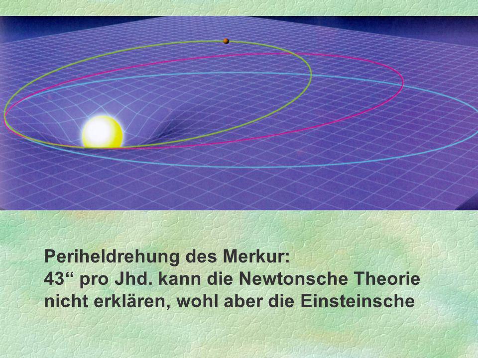 Periheldrehung des Merkur: