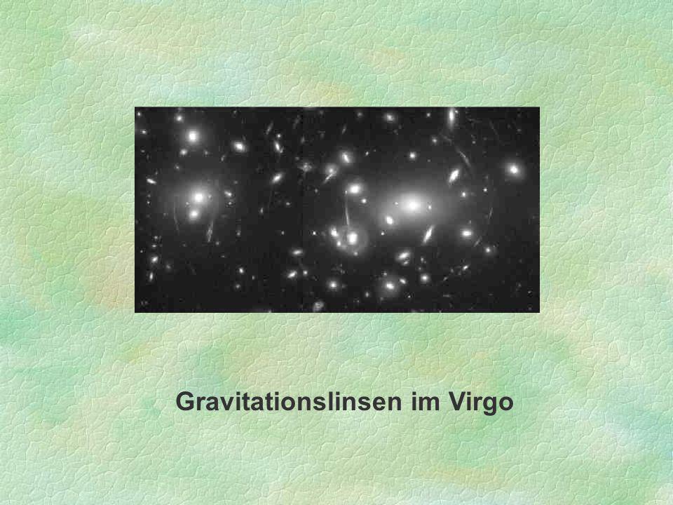 Gravitationslinsen im Virgo