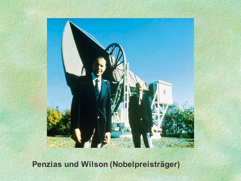 Penzias und Wilson (Nobelpreisträger)