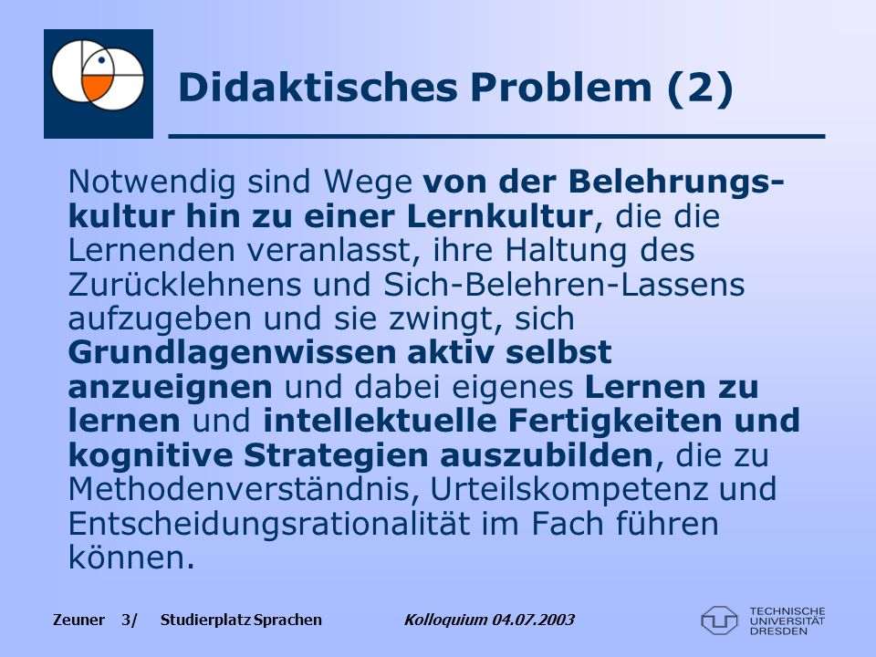 Didaktisches Problem (2)
