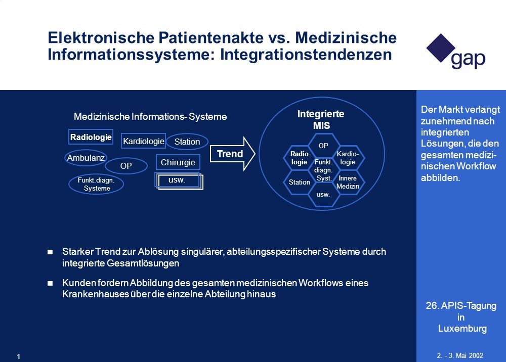 Medizinische Informations- Systeme