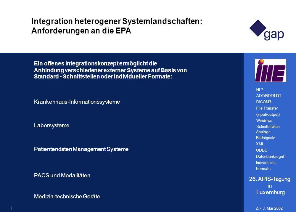 Integration heterogener Systemlandschaften: Anforderungen an die EPA