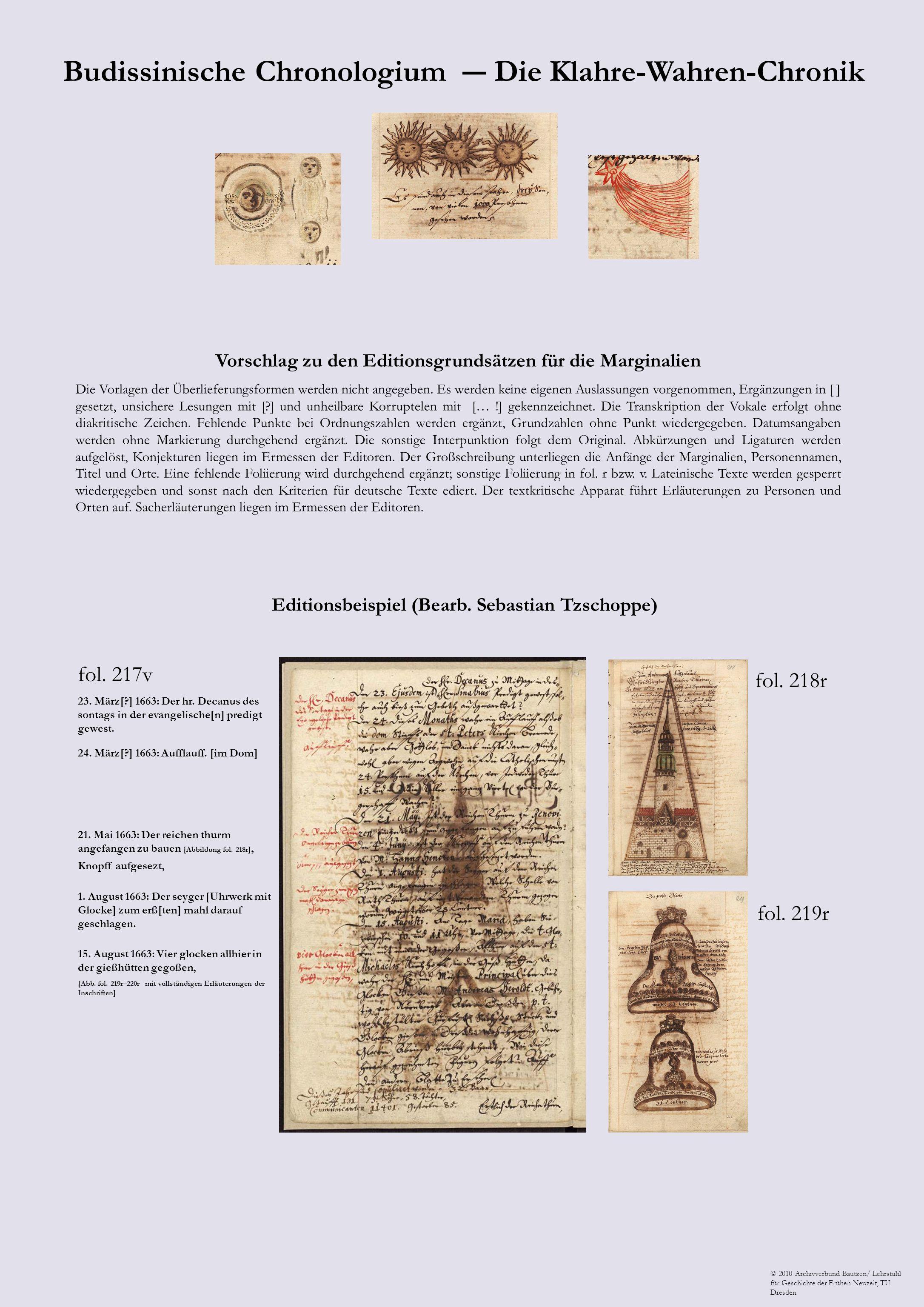 Budissinische Chronologium ― Die Klahre-Wahren-Chronik