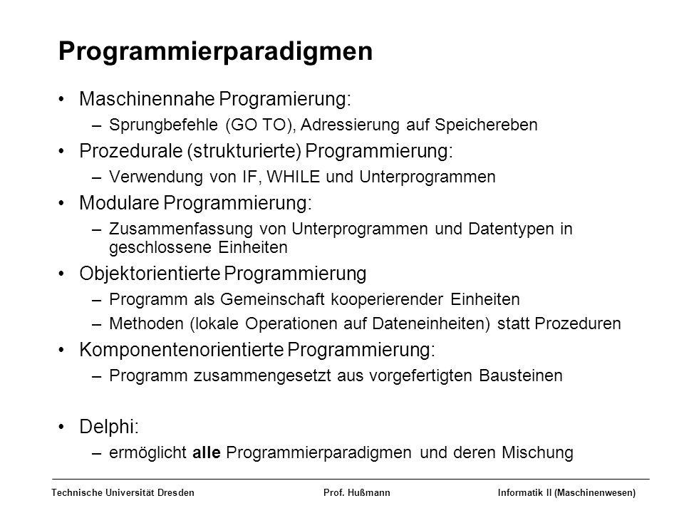 Programmierparadigmen