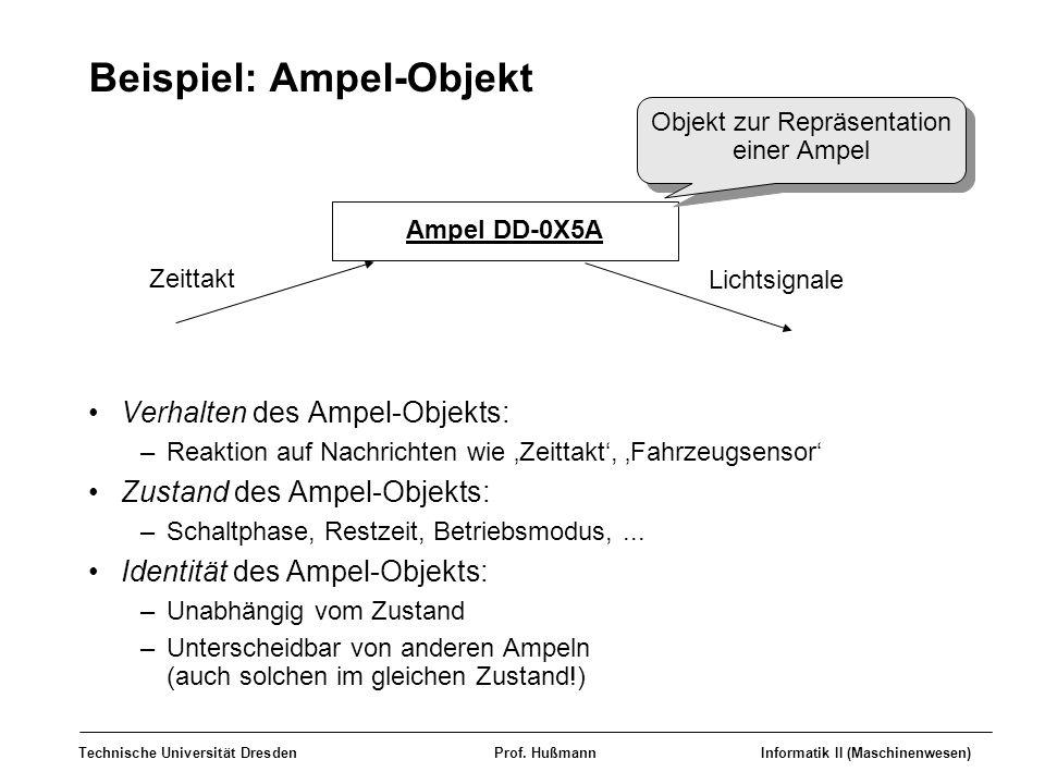 Beispiel: Ampel-Objekt