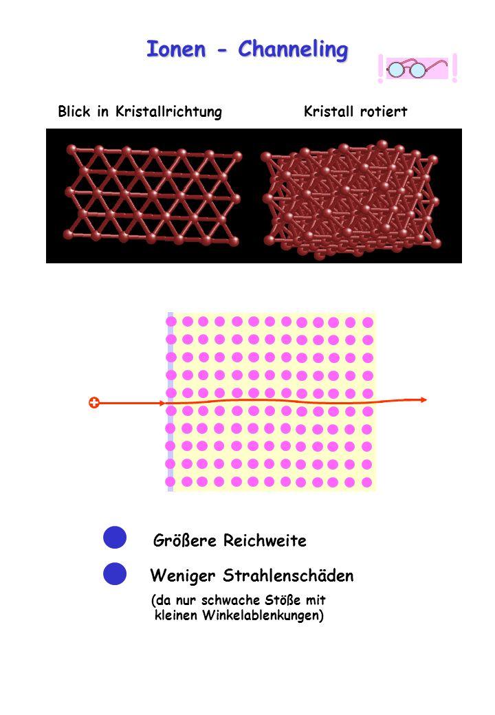 ! Ionen - Channeling + Größere Reichweite Weniger Strahlenschäden