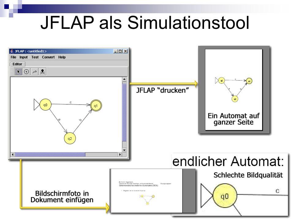 JFLAP als Simulationstool