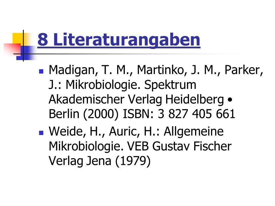 8 Literaturangaben