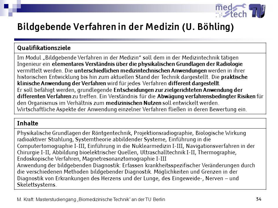 Bildgebende Verfahren in der Medizin (U. Böhling)