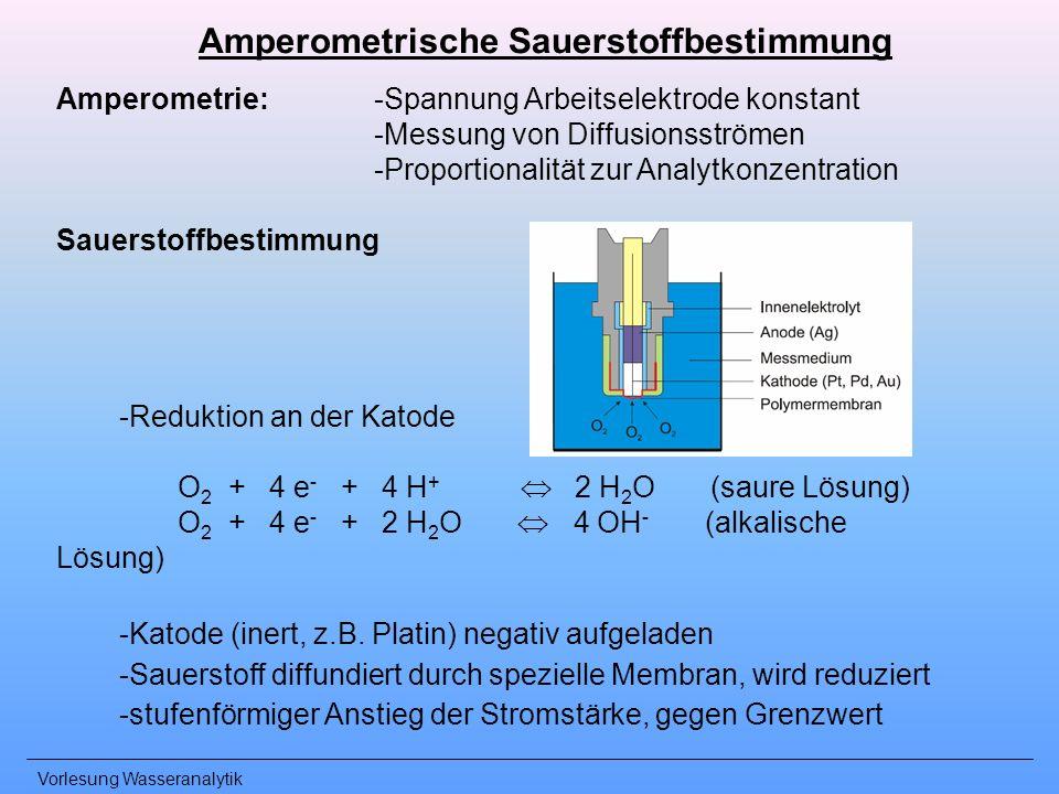 Amperometrische Sauerstoffbestimmung