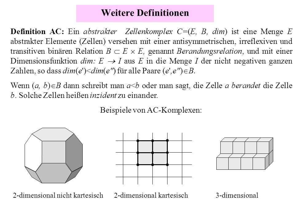 Beispiele von AC-Komplexen:
