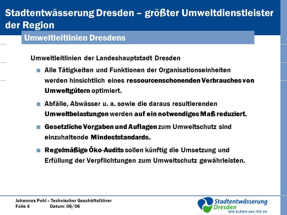 Umweltleitlinien Dresdens