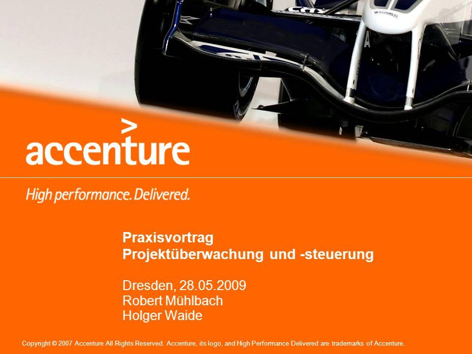 Praxisvortrag Projektüberwachung und -steuerung