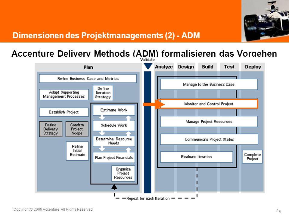 Dimensionen des Projektmanagements (2) - ADM