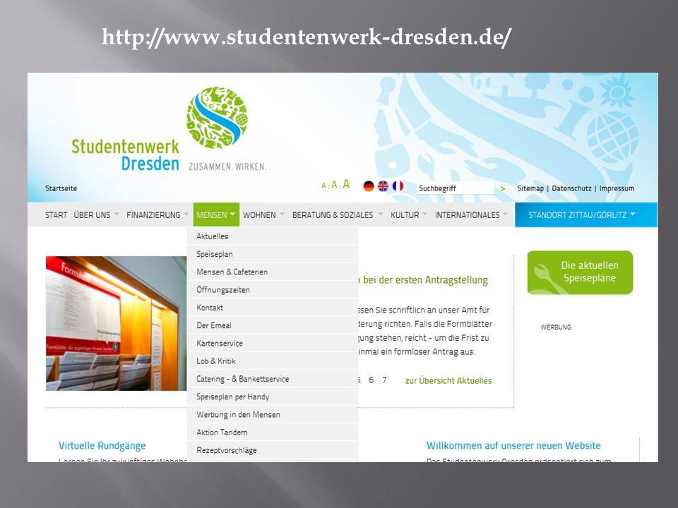 http://www.studentenwerk-dresden.de/