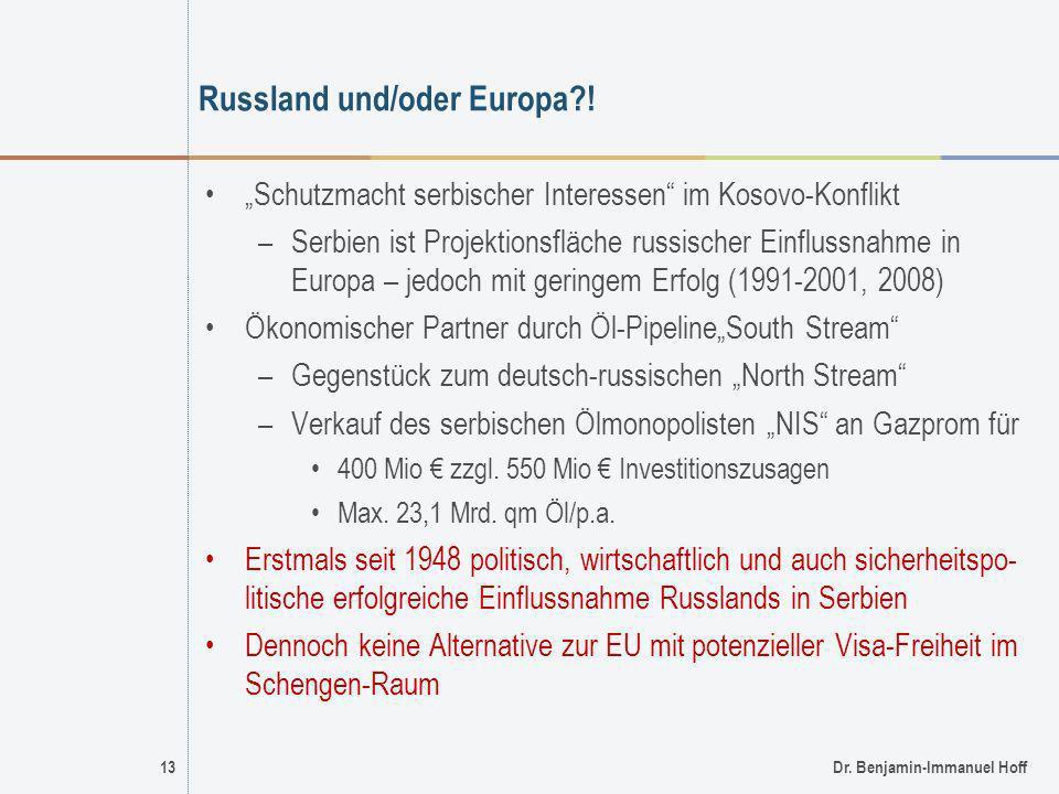 Russland und/oder Europa !