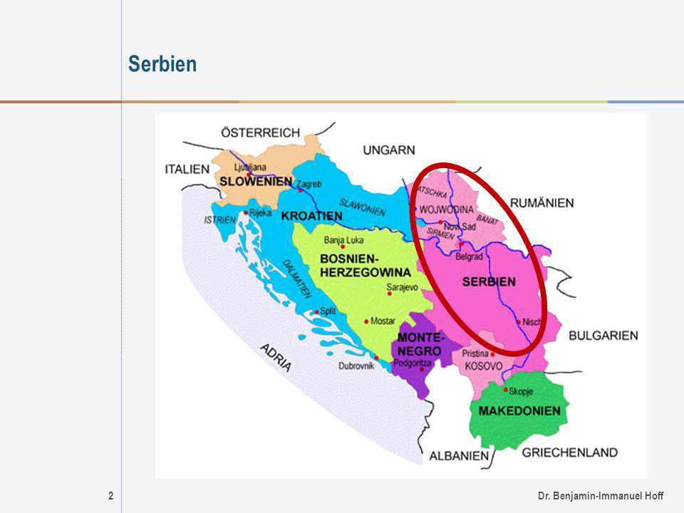 Serbien 2 Dr. Benjamin-Immanuel Hoff