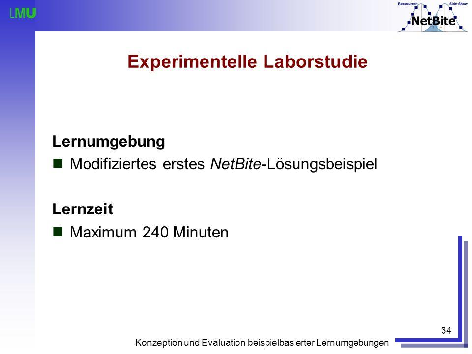 Experimentelle Laborstudie
