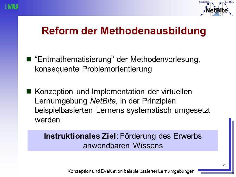 Reform der Methodenausbildung