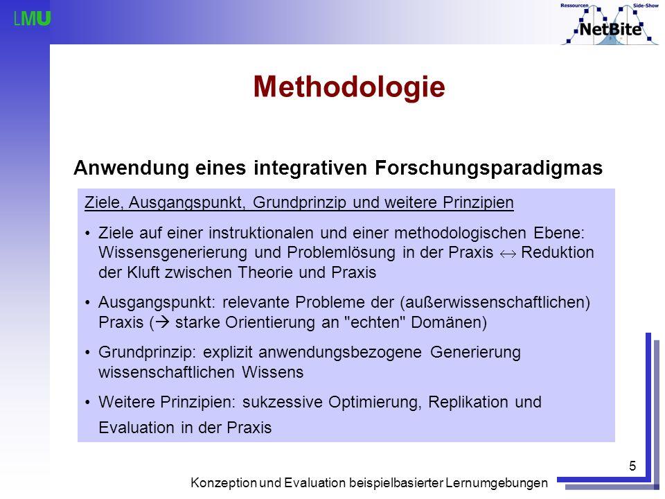 Methodologie Anwendung eines integrativen Forschungsparadigmas