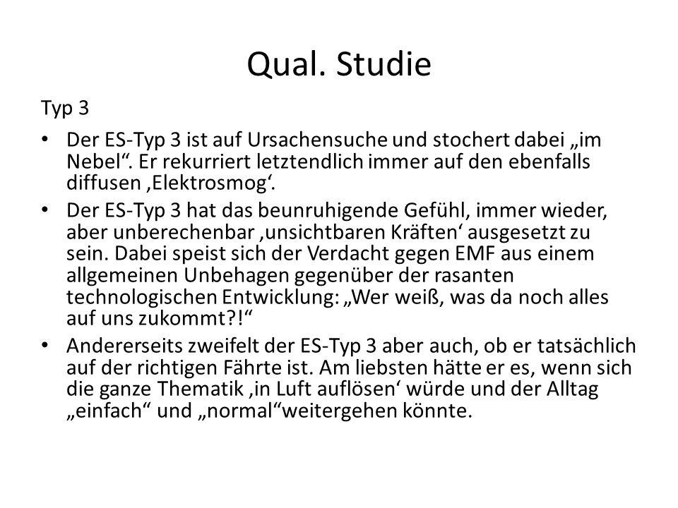 Qual. Studie Typ 3.