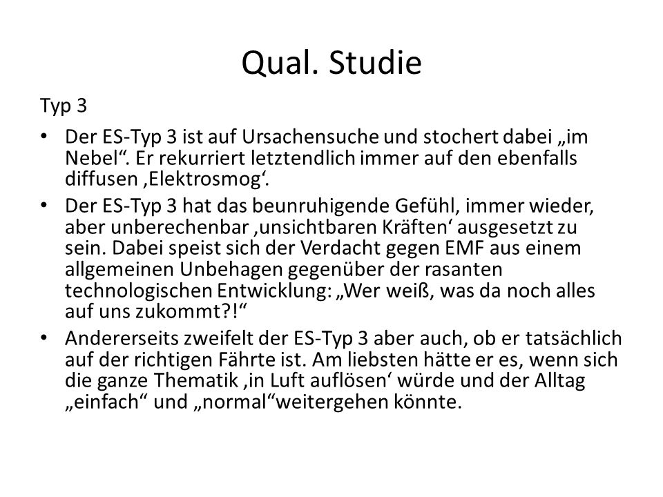 Qual. StudieTyp 3.
