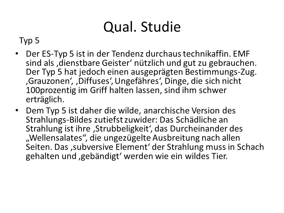 Qual. StudieTyp 5.