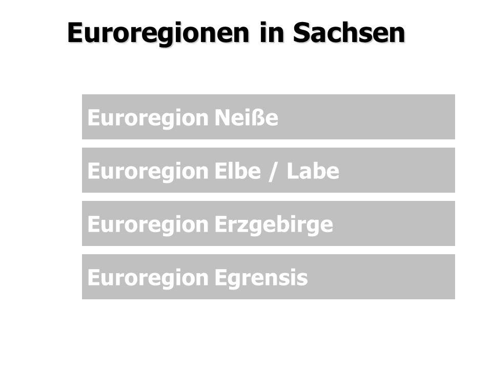 Euroregionen in Sachsen