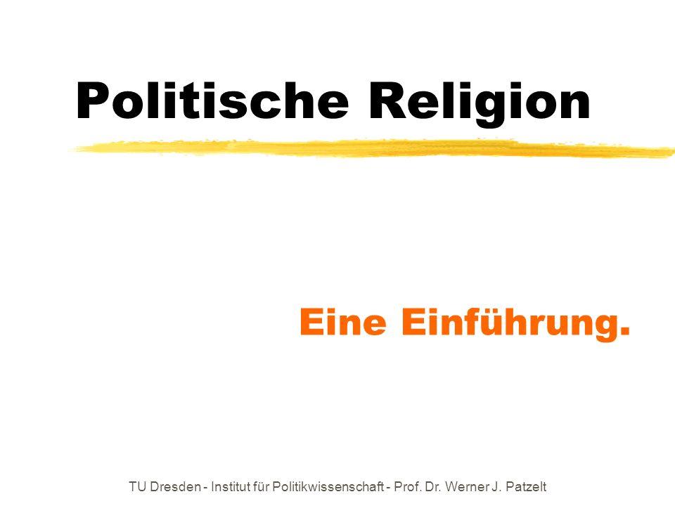 Politische Religion Eine Einführung.