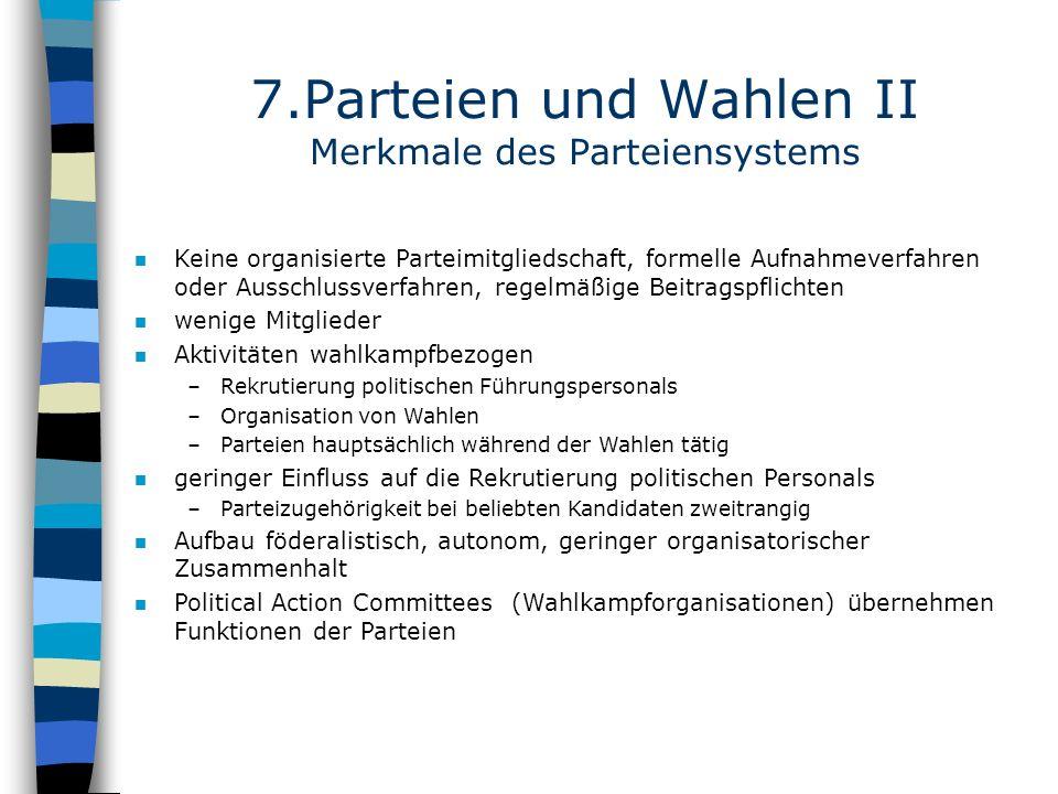 7.Parteien und Wahlen II Merkmale des Parteiensystems