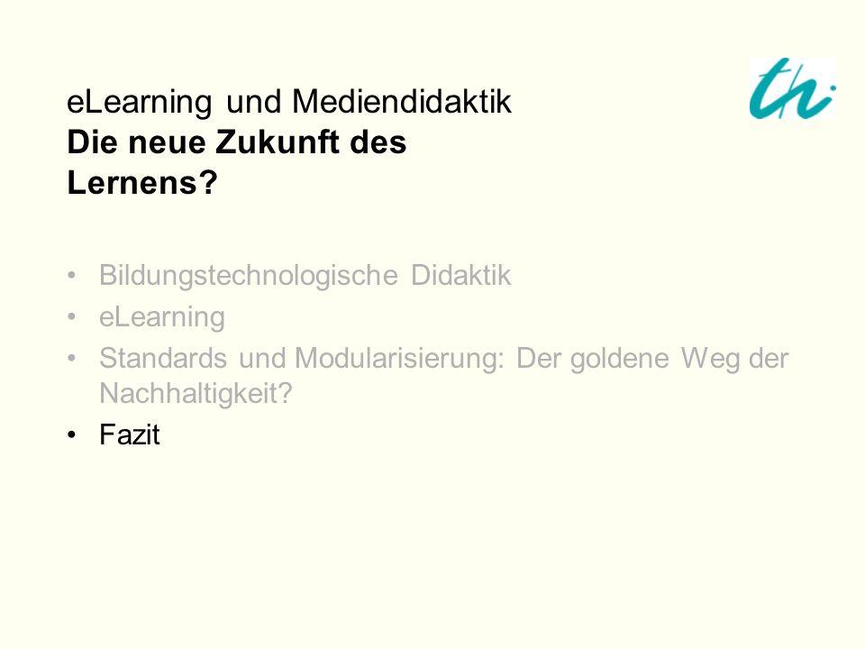 eLearning und Mediendidaktik Die neue Zukunft des Lernens
