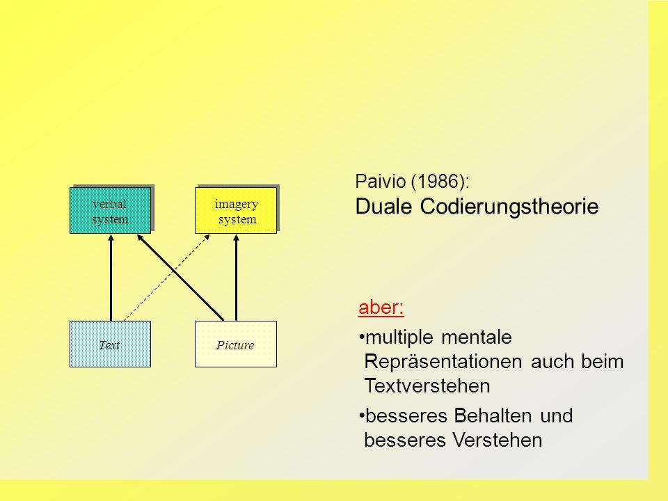 Duale Codierungstheorie