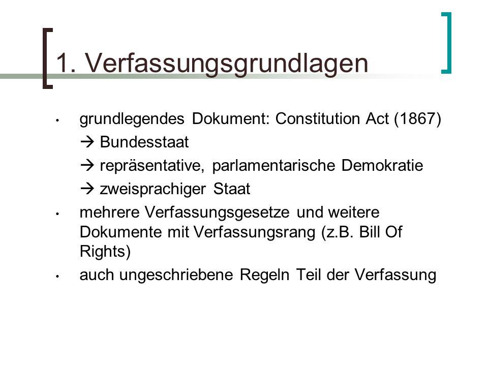 1. Verfassungsgrundlagen