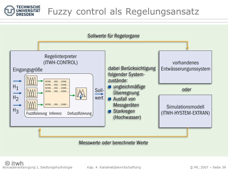 Fuzzy control als Regelungsansatz