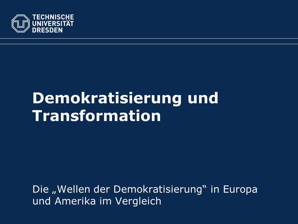 Demokratisierung und Transformation