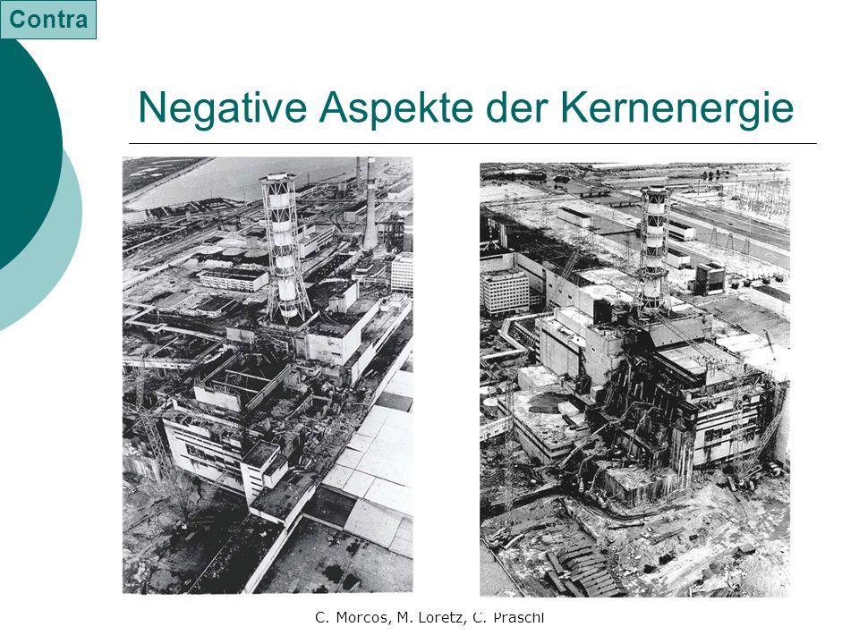Negative Aspekte der Kernenergie