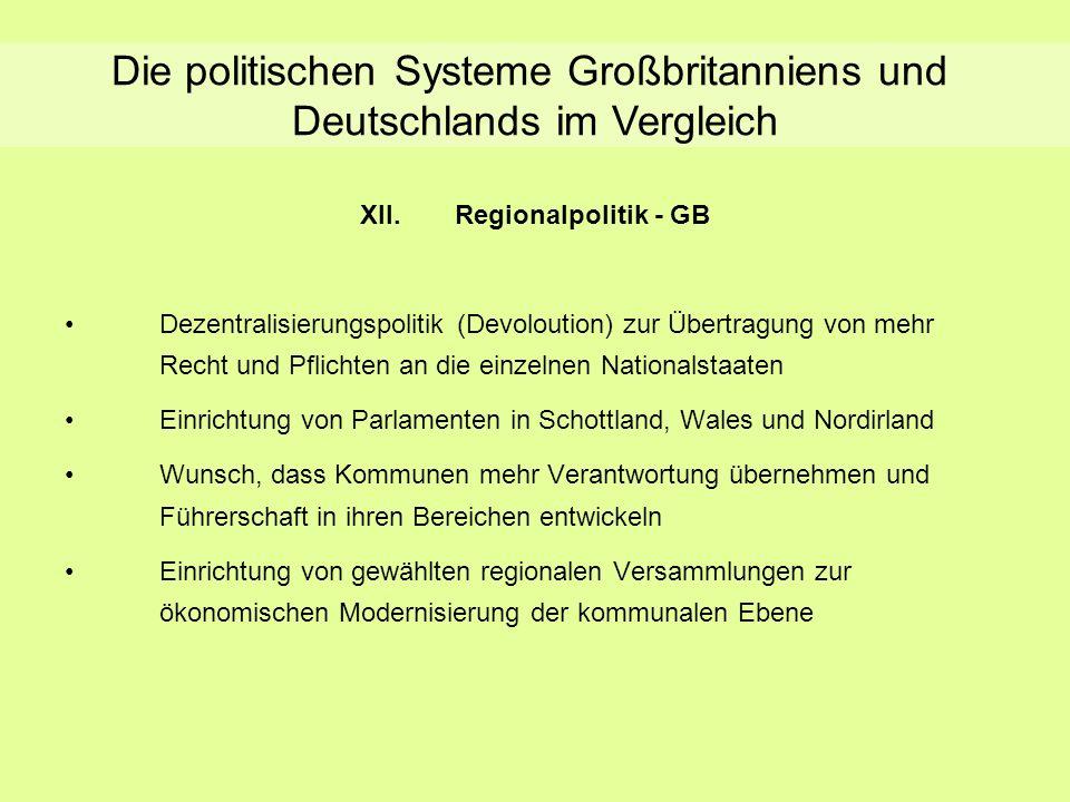XII. Regionalpolitik - GB
