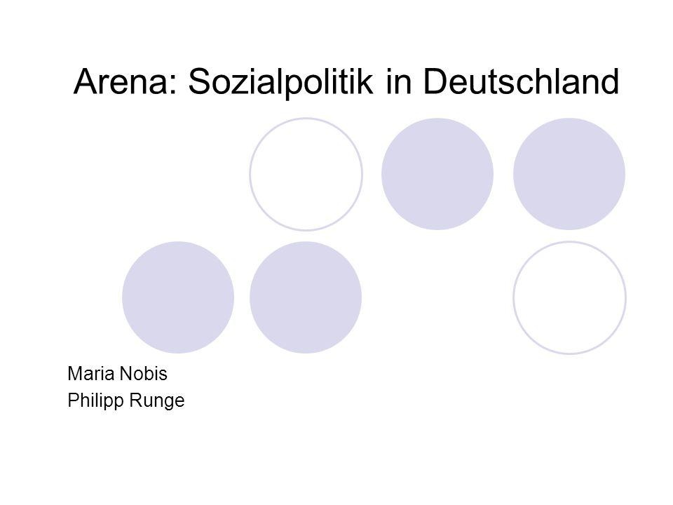 Arena: Sozialpolitik in Deutschland