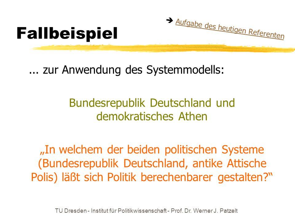 Bundesrepublik Deutschland und demokratisches Athen