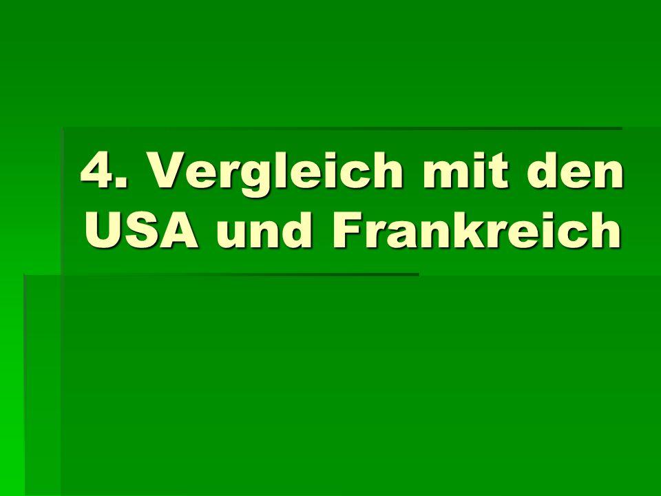 4. Vergleich mit den USA und Frankreich