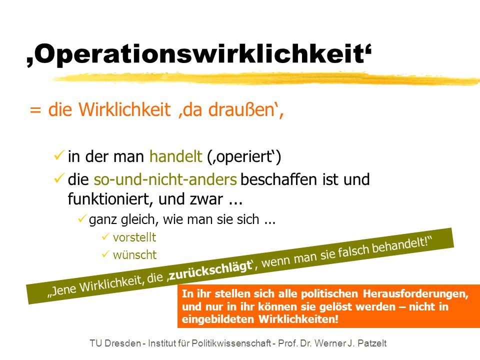 'Operationswirklichkeit'