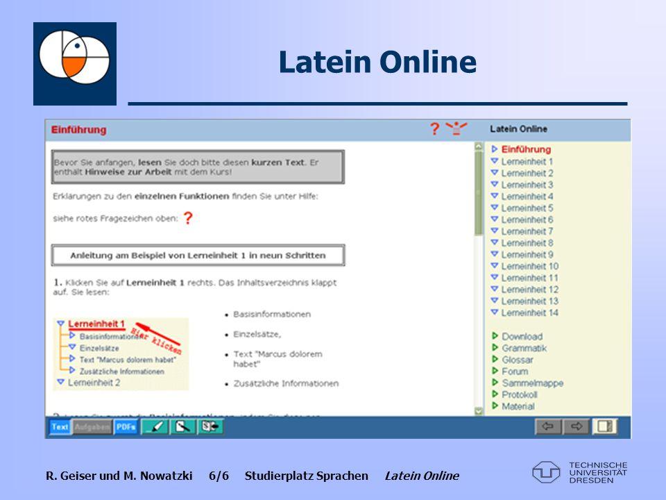 Latein Online
