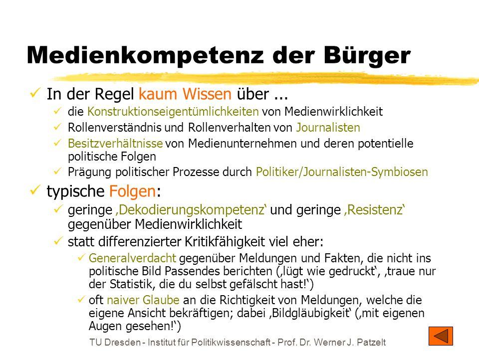 Medienkompetenz der Bürger