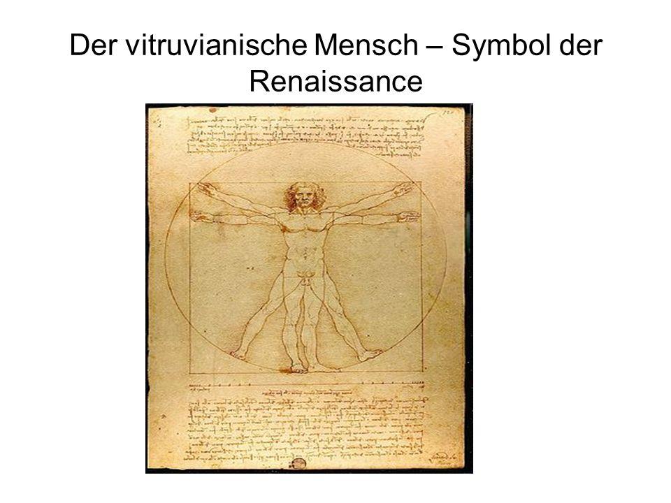 Der vitruvianische Mensch – Symbol der Renaissance