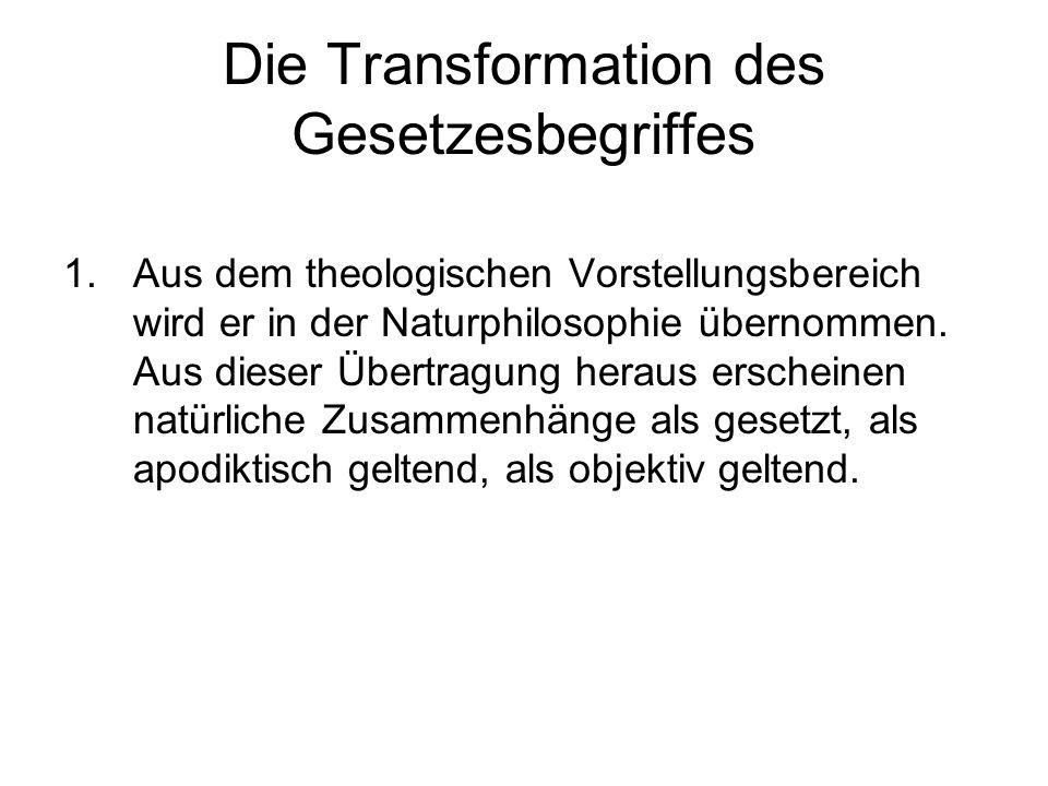 Die Transformation des Gesetzesbegriffes