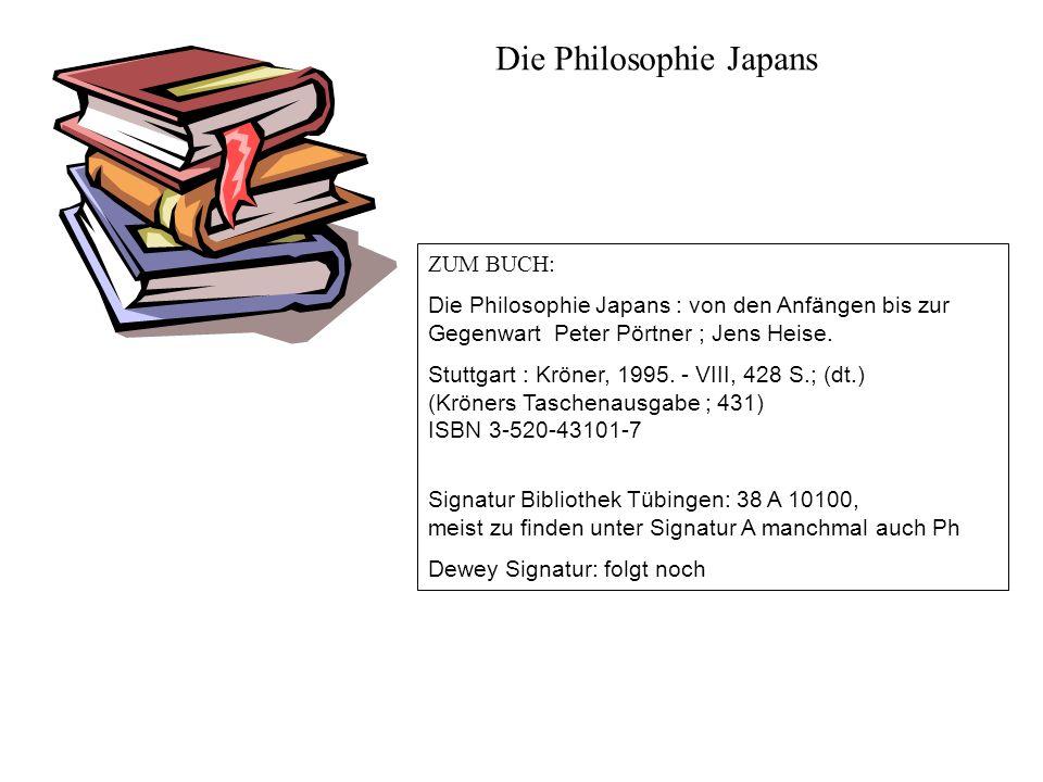 Die Philosophie Japans