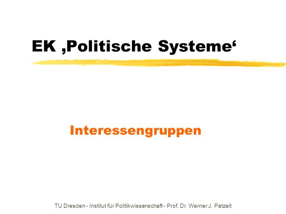 EK 'Politische Systeme'