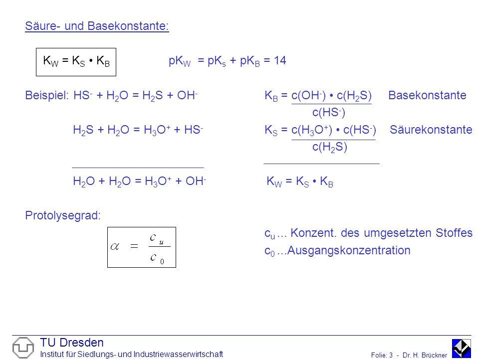 H3o Konzentration Berechnen : tabelle pks werte ausgew hlter s uren bei 25 c ppt herunterladen ~ Themetempest.com Abrechnung
