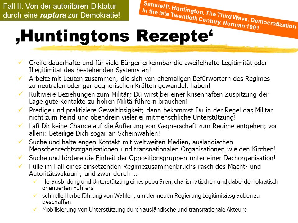 'Huntingtons Rezepte'