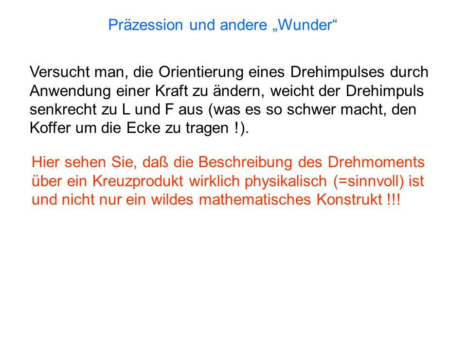 """Präzession und andere """"Wunder"""